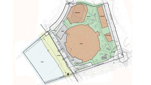 Tak ma wyglądać otoczenie Stadionu Narodowego fot. Urząd Miasta