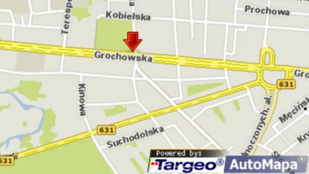 Wypadek na ul. Grochowskiej targeo.pl /tvnwarszawa.pl