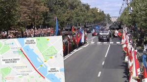 Nowa trasa wojskowej defilady, przejdzie Wisłostradą