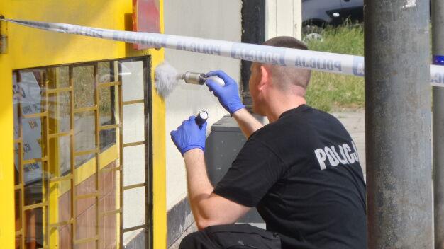 Napad na kantor na Bielanach