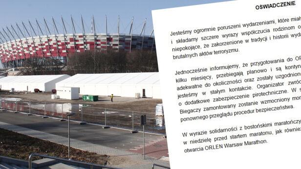 Oświadczenie organizatorów maratonu tvnwarszawa.pl