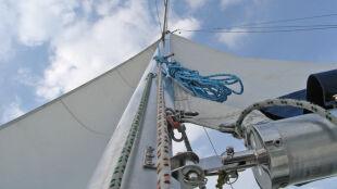 Na Mazurach idealny wiatr dla żeglarzy