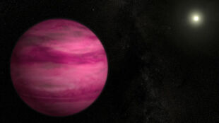 Sfotografowano najmniejszą znaną egzoplanetę. Może być różowa