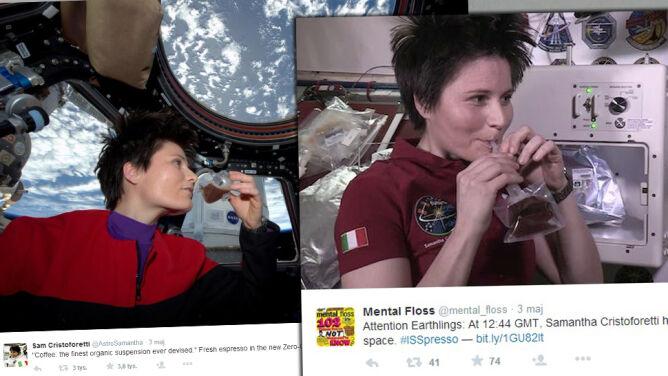 Pierwsze espresso na orbicie. Na stację ISS dotarł kosmiczny ekspres do kawy