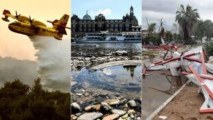 Pożary, burze i upały w Europie. Sprawdź, gdzie pogoda może być zagrożeniem
