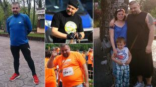 """""""Jestem szczęśliwym człowiekiem"""". Zrzucił 40 kilogramów"""