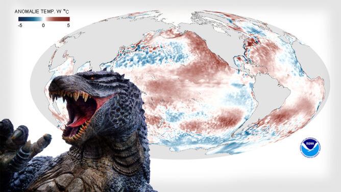 Po raz pierwszy w historii. El Niño Godzilla w parze z globalnym ociepleniem